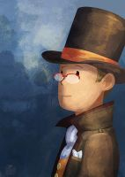 Professor Layton by MTerrenal