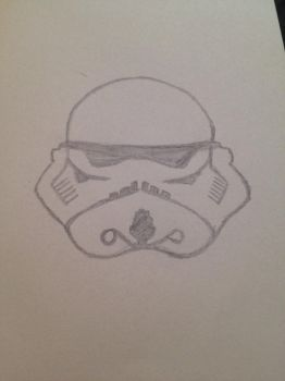 Trooper helmet by supertardisin221b