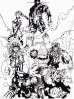 Old Xmen by JointForce