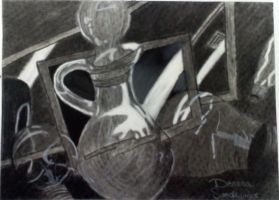 my still life drawing. by deanna22310