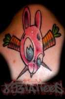 dead carrots tell no tales by gil893tattoos