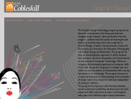 Cobleskill Graphic Design Web by PrincessKanyo