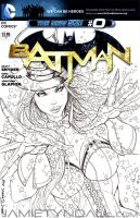 Zatanna Sketch Cover Commission by jamietyndall
