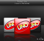 Pocket Uno Icons by i0d