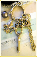 Royal Key Necklace by LypticLayouts