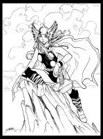 Lady Thor by HeidiArnhold