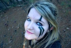 Skyrim War Paint Test by AmbitiousArtisan