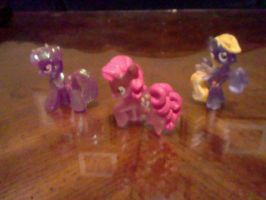 My Three Ponies From Walmart by coliegren02
