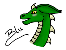 Blu - gift for blubeans51 by Soufroma