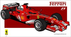 schumacher ferrari by klopperoo