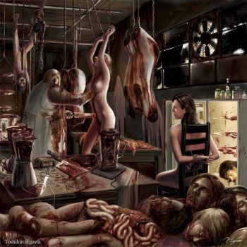 Smashed And Splattered Organs by Toshihiro666