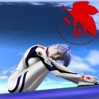Rei Ayanami by Ty13r
