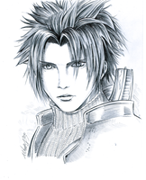 Zack Fair sketch by MartyIsi