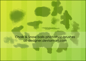 Chalk brushes by Ali-Designer