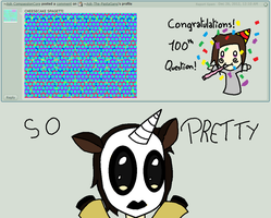 Q and A 100 -magic-deviant and congratulations!- by Ask-The-PastaGang