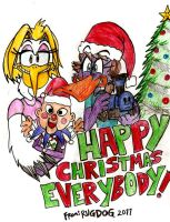 Happy Christmas 2011 by rugdog