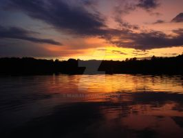 Lake Sunset by readler