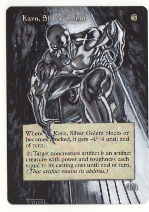 Karn Golem by Barman