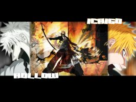 Ichigo Vs Hollow by darkshadowsonic