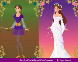 Kayley From Quest For Camelot by merimaca
