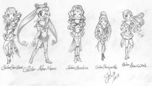 The New Sailor Group by MagicalShine