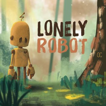 Lonely robot by CookiesOChocola