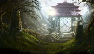 Timetemple by artbymatthew