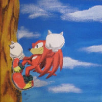 Climbing Knux by Speedy1236