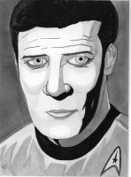 James T Kirk by nathanobrien