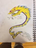 Volt, the electric dragon by RonniTheHedgehog45