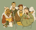 Legendary Dudes - rough WIP by bigbigtruck