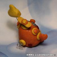 Polymer Clay Robot - Number One Mom Robot by KIMMIESCLAYKREATIONS