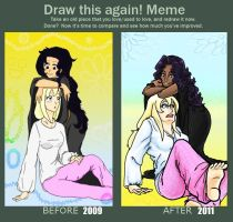 Before and After Meme by Little-Lovely