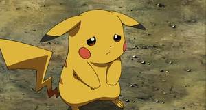 Pikachu Sad :C by iPowah