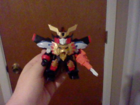 GaoGaiGar model kit - finished product by zoroark555