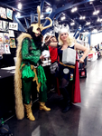 Comicpalooza 2013 - Lady Loki and Thor by Imperius-Rex