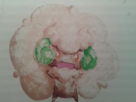 Whimsicott (other side of the paper) by swedishpancaces