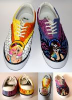 Painted Shoes by Kilimiria