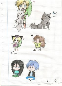 More chibis random by estela107