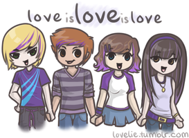 love is love is love by cuppiecakes
