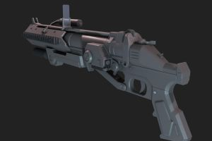 Halo:Reach Granade Launcher by martynball