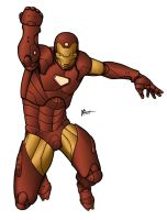 Iron Man...With Color by jaybob
