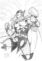 The Mighty Thor by LexSeifer