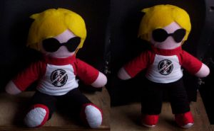 Dave Strider doll by PlushMayhem