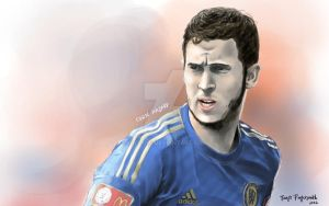Eden Hazard by cgtang
