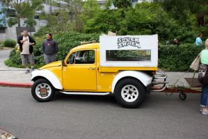 vw baja bug snack truck by kingemster