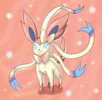 Sylveon by shinyscyther