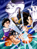 DBZ by tovio911 colored by BK-81