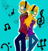 Pop Music by Green-Necklace-Girl