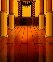 Fire Lord's Throne Room by Ozai-Fanatic